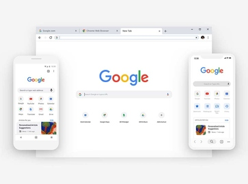 Nuova veste grafica per il browser Chrome