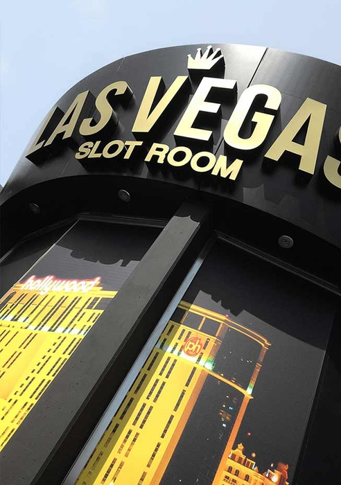 Insegne, decorazioni e graphic design Las Vegas Slot Room