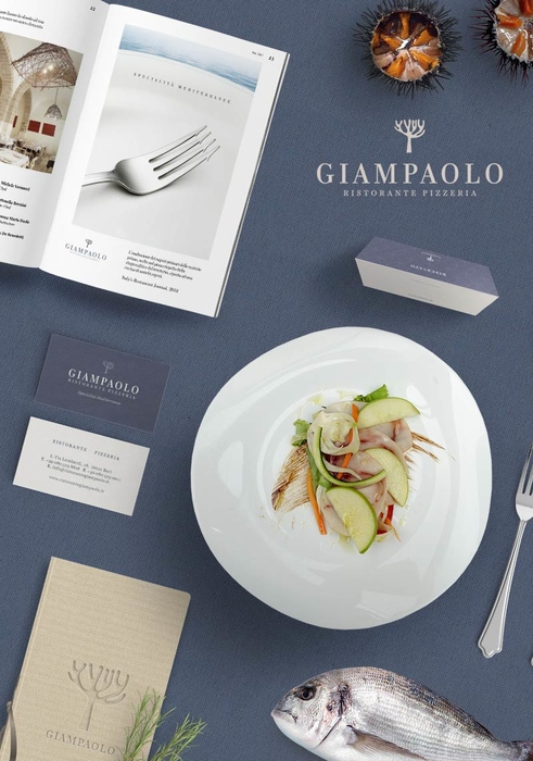 Rebranding, advertising e web design Ristorante Giampaolo